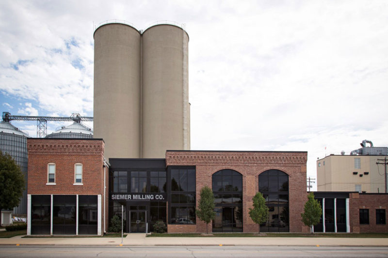 Siemer Milling's new 8,000-sq.-ft. tecnhical center is located adjacent to its company office in Teutopolis, Illinois.