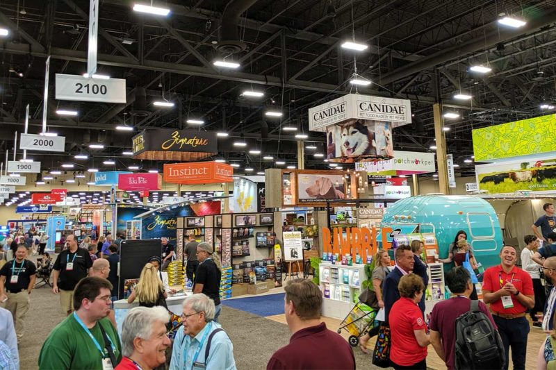 SuperZoo 2019, hosted by the World Pet Association at Mandalay Bay in Las Vegas from Aug. 20 to 22, was packed with new pet food and treat products from a multitude of brands, from those using all human-grade ingredients to high-meat inclusions and even a new vegan dog diet.  Here are some trends and products that stood out to the editors of Pet Food Processing as they walked the show floor.
