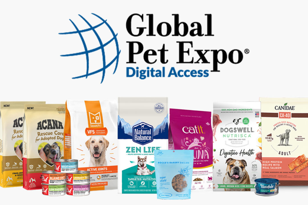 New pet food and treat products seen at Global Pet Expo Digital Access