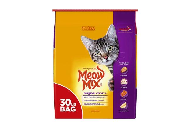 Meow Mix Original Choice 30 lb package