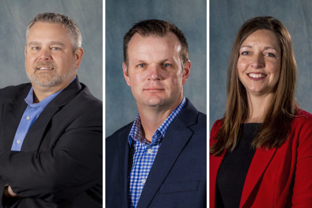 Day, Stricker and Nelson promotes at Shick Esteve