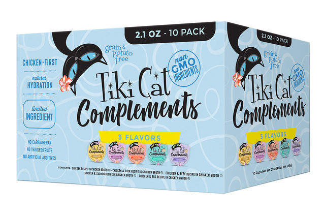 011121 tiki cat complements lead