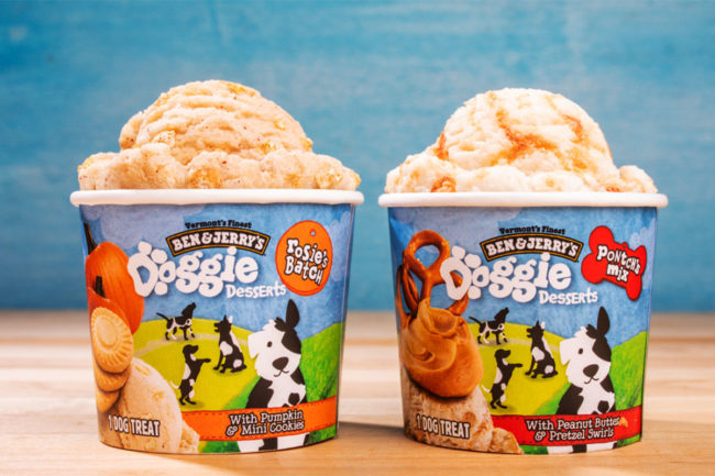 Leading national ice cream brand launches frozen treats for dogs
