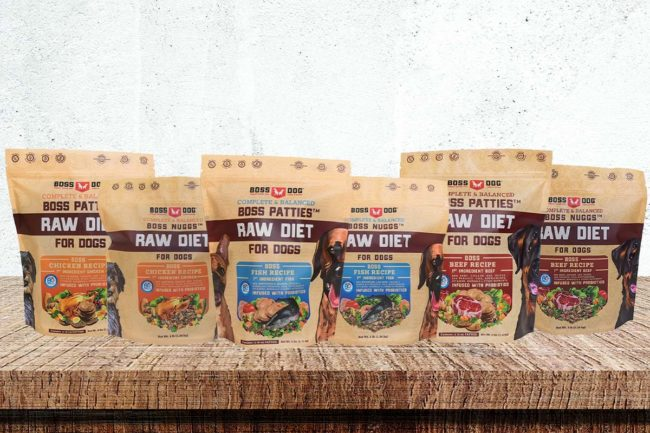 Boss Dog adds frozen raw dog foods