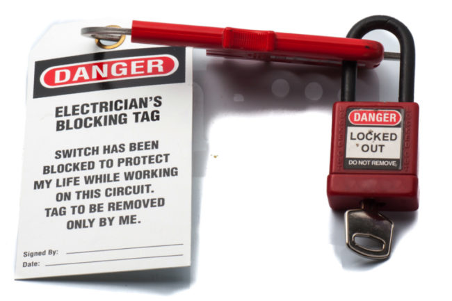 NGFA offers safety training for lockout/tagout procedure