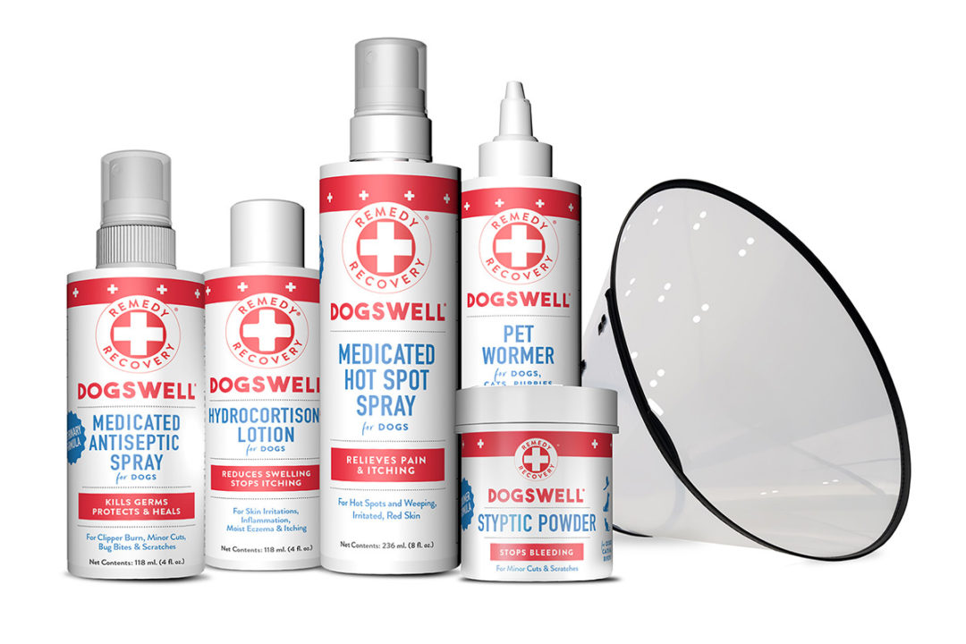 Rebranded R+R dog health products