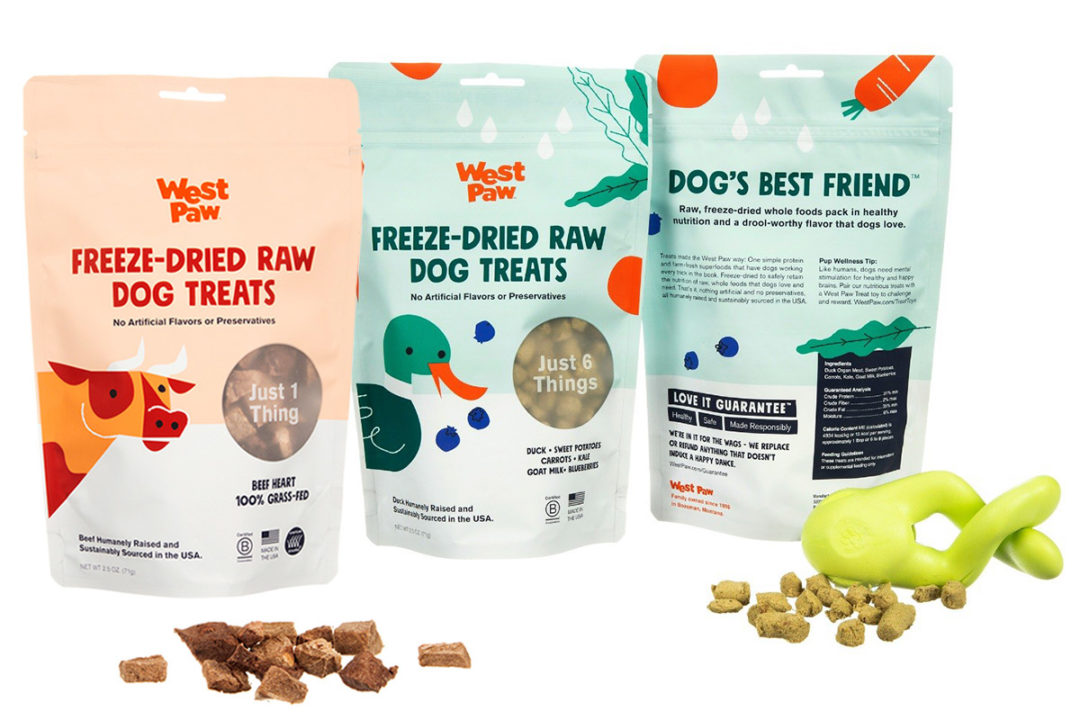 West Paw debuts sustainable dog treat line