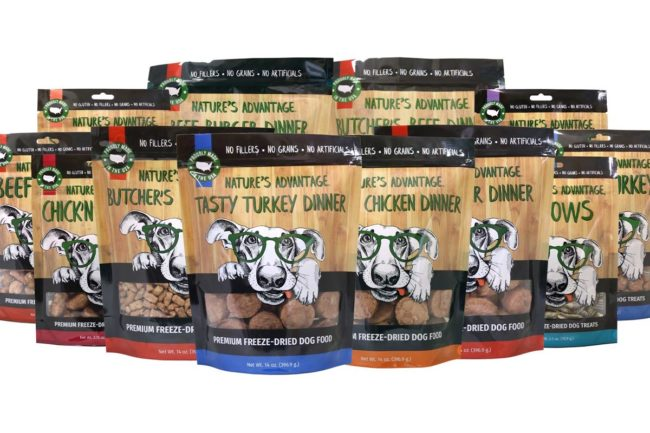 Nature's Advantage adds several freeze-dried dog treat, food formulas
