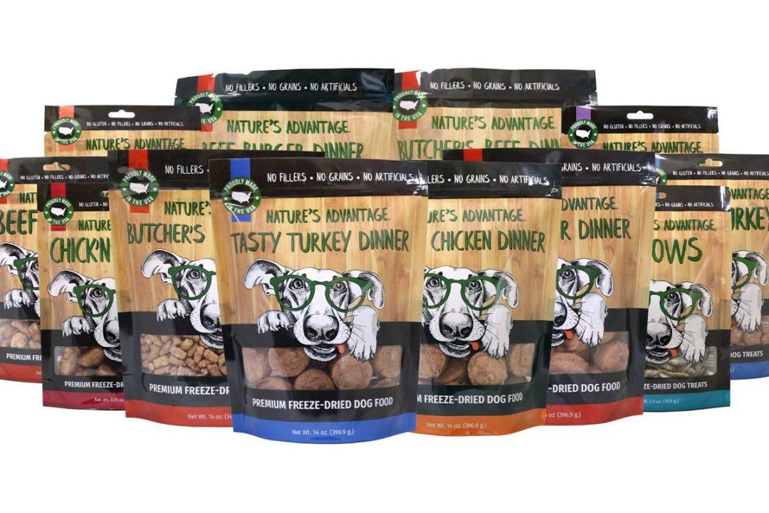 Nature's Advantage adds several freeze-dried dog treat, food formulas