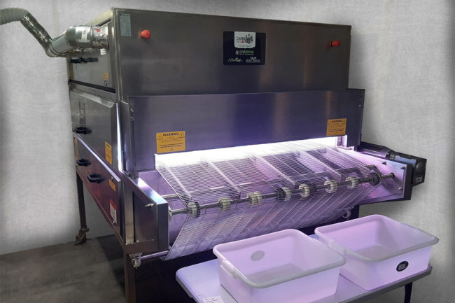 Carnivore donates UV sterilizer to local hospitals