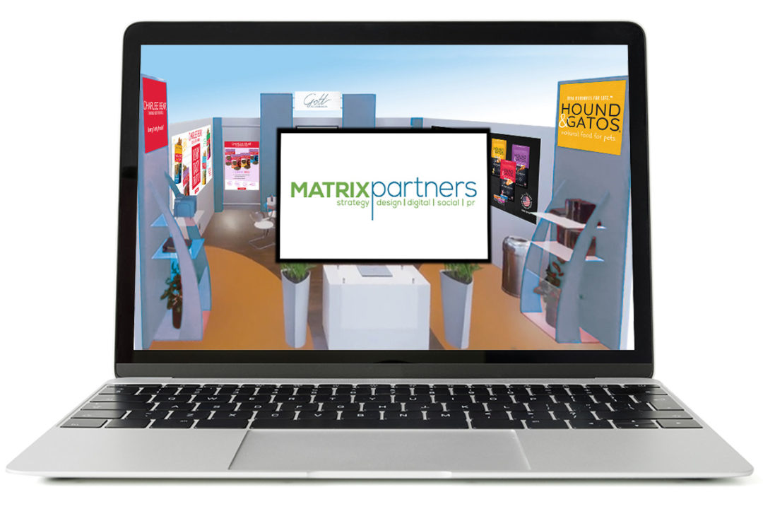 Matrix Partners offers virtual show booth creation services