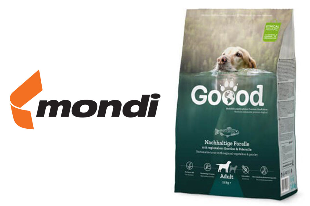 Mondi develops FlexiBags recyclable packaging for German pet food manufacturer