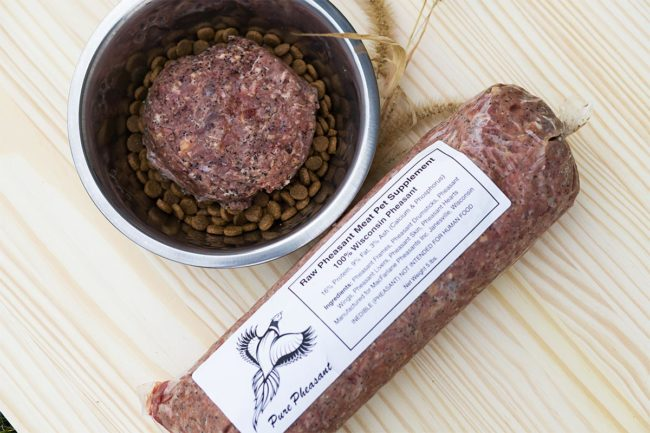Pure Pheasant launches pet food, treats and new website