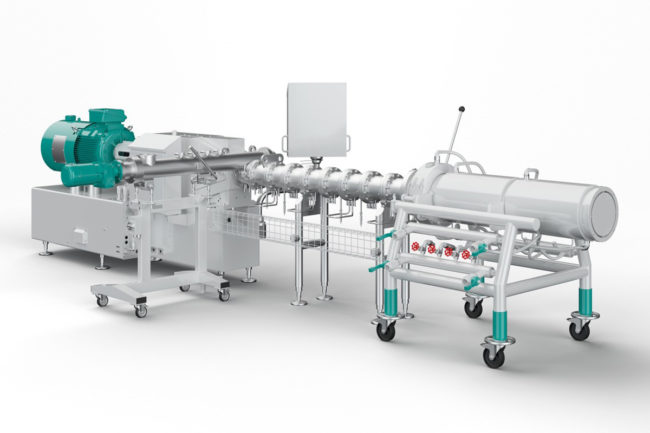 Buhler's new high-performance cooling die for extrusion