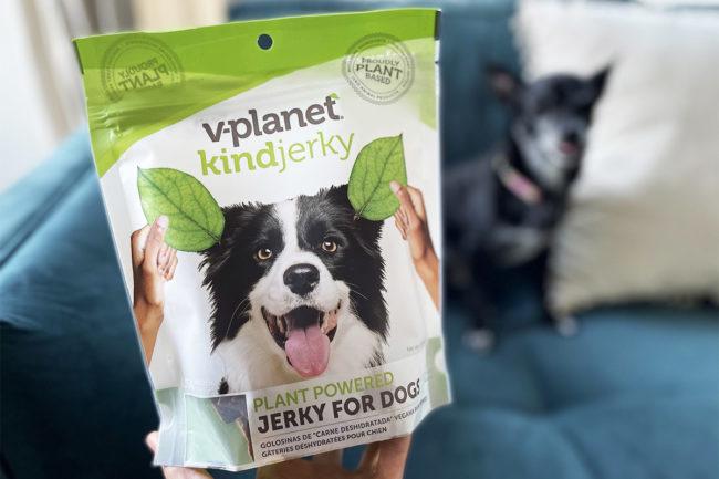 Vegan jerky dog treats added to v-dog portfolio