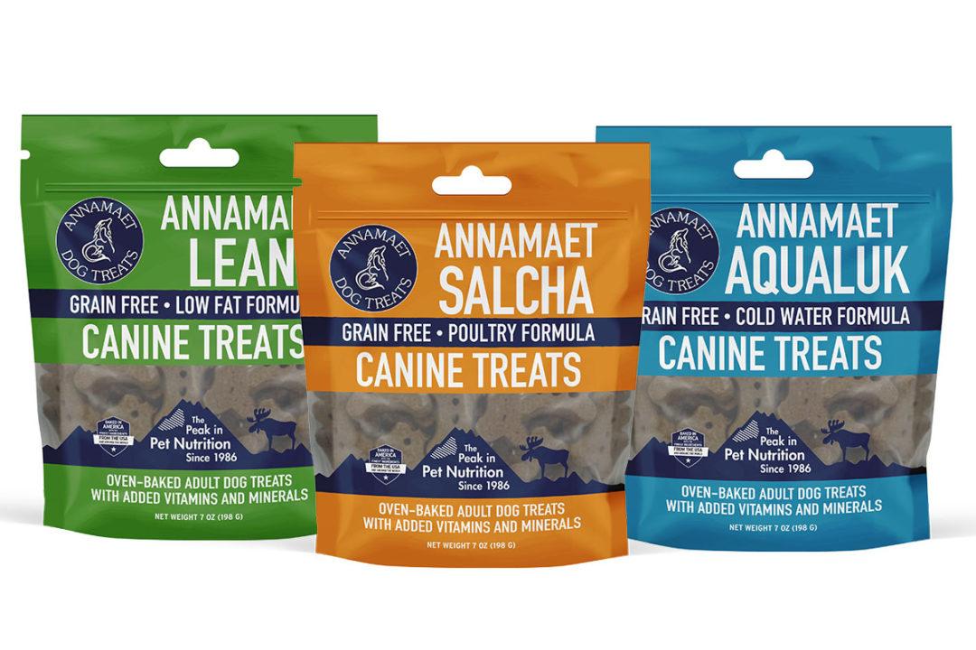 Annamaet Petfoods revamps dog treat packaging