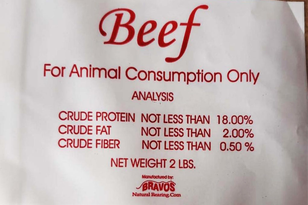 Bravo Packing recalls two raw dog foods for possible pathogen contamination