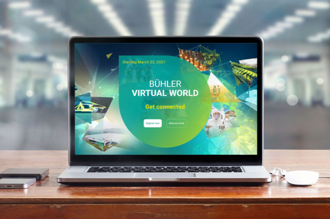 Buhler gearing up to host Virtual World 2021 in March
