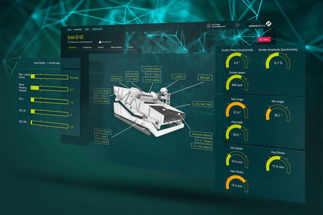 CONiQ Cloud by Schenck Process offers IoT data management