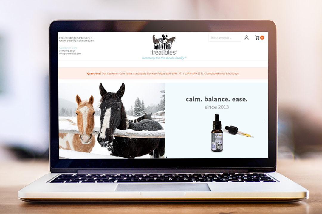 Pet hemp-CBD supplement brand launches newly designed website
