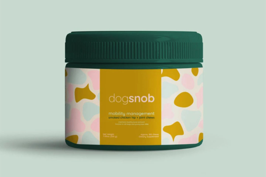 Dogsnob releases second product, mobility soft chews