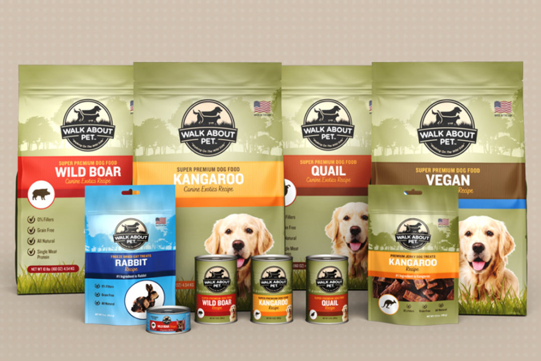 Walk About Pet Products' pet foods to be distributed by Phillips Pet Food & Supplies