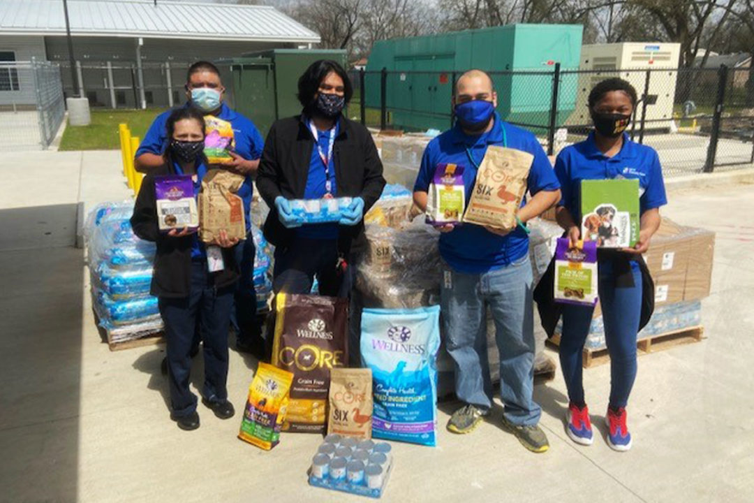 Harris County Pets receives pet food, treat donations from WellPet