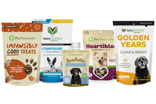 New products from VetriScience and Pet Naturals
