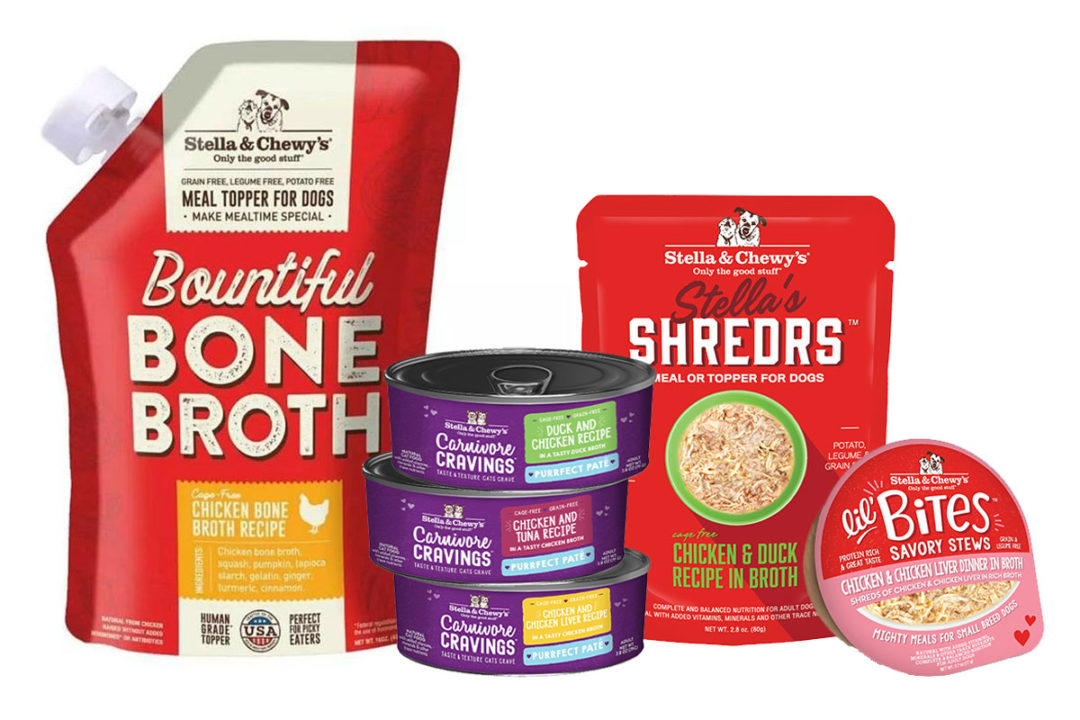Stella & Chewy's to launch new wet dog and cat food products