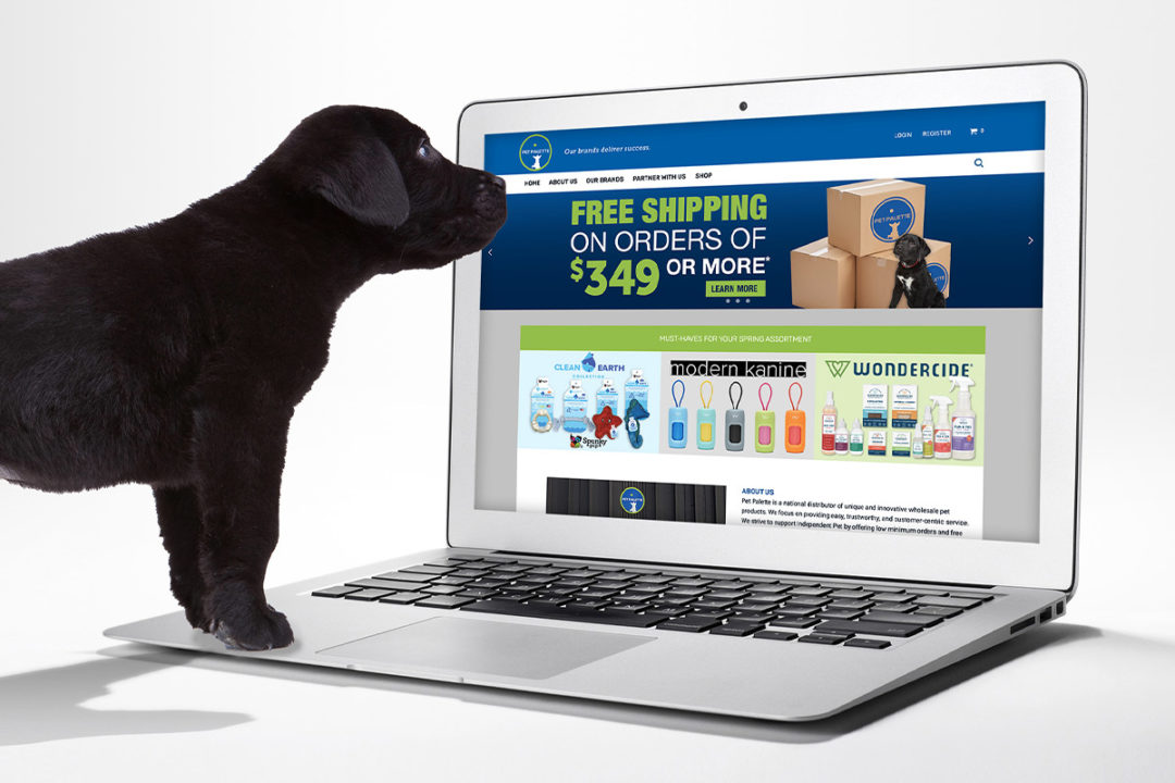 Pet Palette launches new online store for independent retail partners