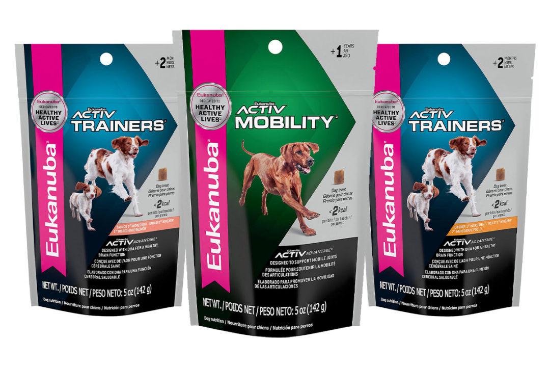 Performance training treats added to Eukanuba line
