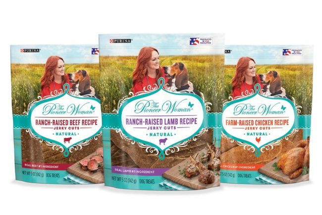 Pioneer Woman adds jerky treats to dog treat line
