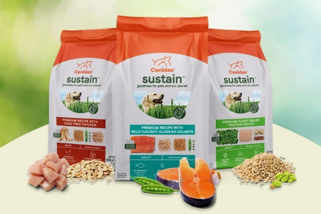 Canidae launches eco-friendly dog foods, sustainability campaign