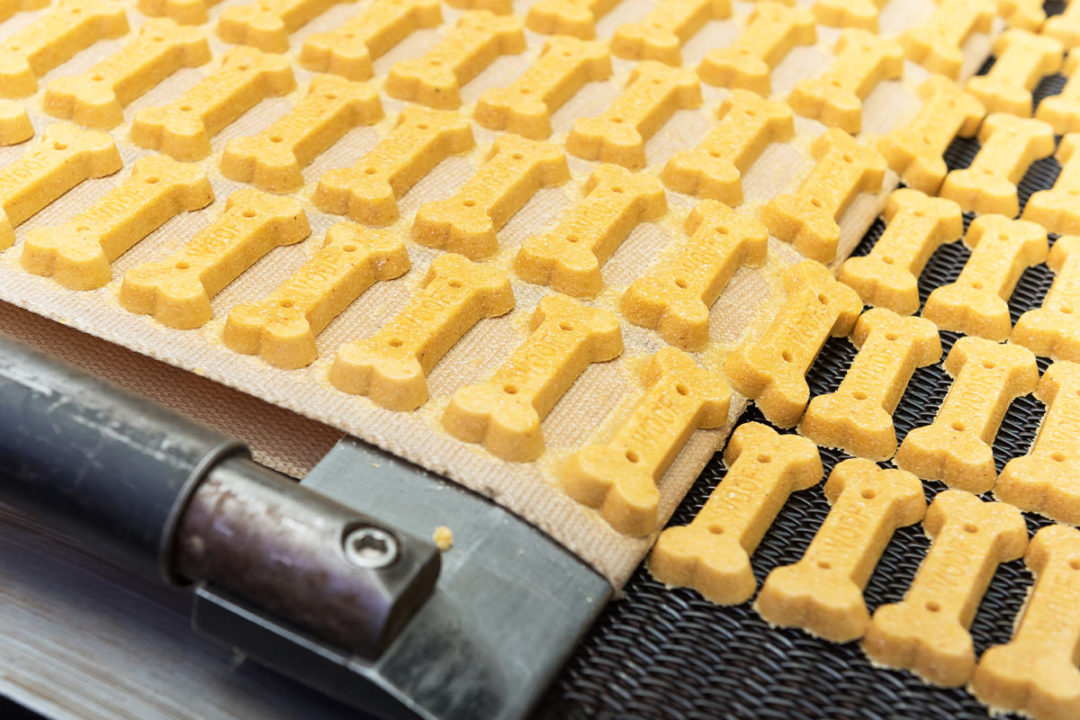 A look inside Wet Noses Natural Dog Treats' manufacturing operations in Washington.