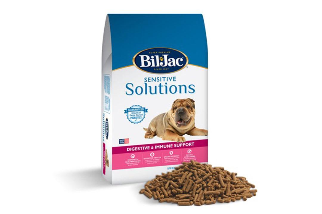 Bil-Jac expands Sensitive Solutions dog food portfolio