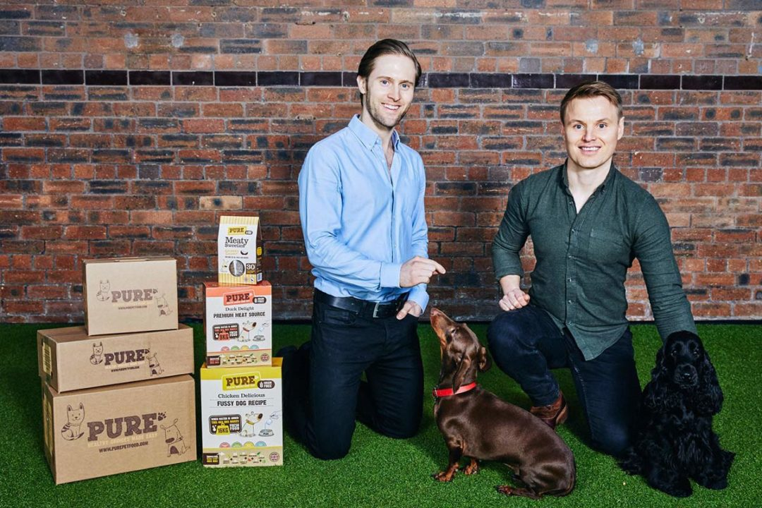 Co-founders of Pure Pet Food
