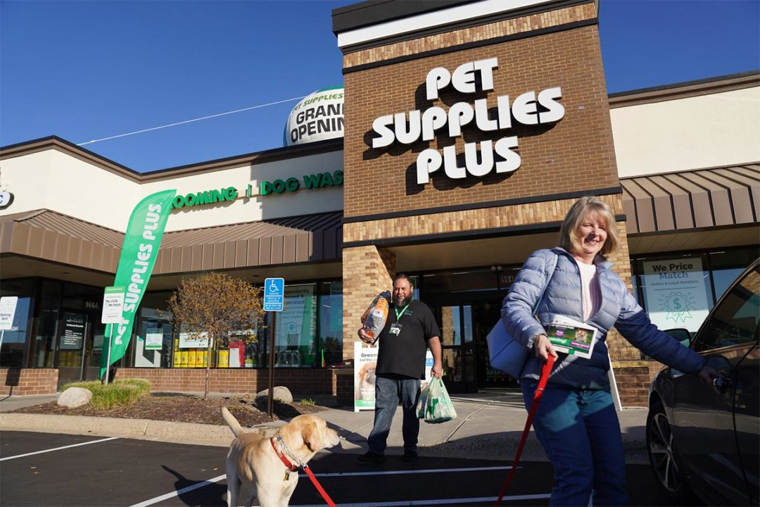 Pet Supplies Plus ranked for franchise growth by two publications