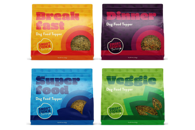 Meal toppers for dogs by Smart Cookie Barkery