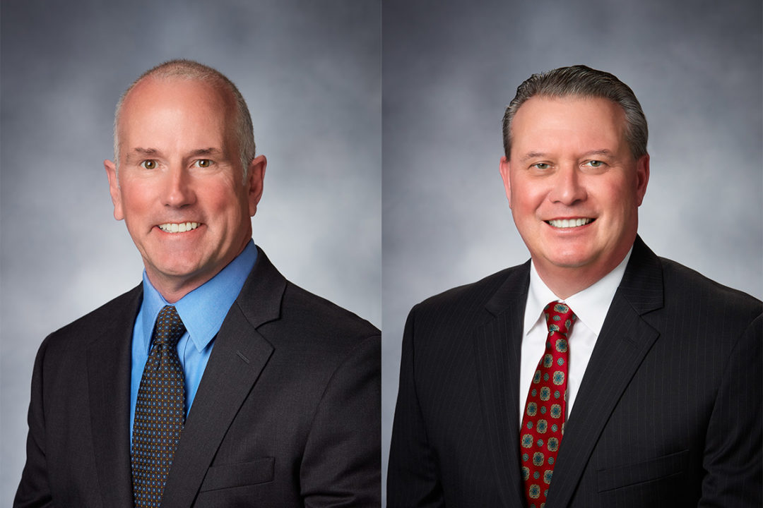 Two sales leaders promoted at Urschel