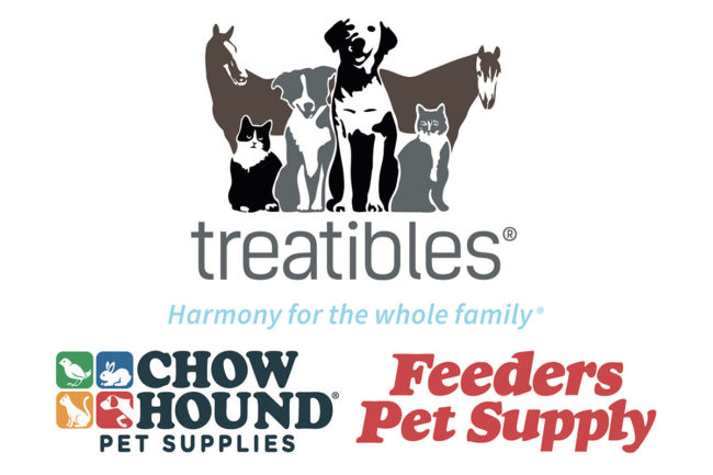 Chow Hound and Feeders Supply expand Treatibles distribution