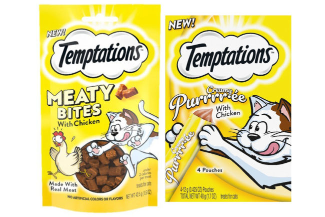 Mars Petcare adds two new formats to TEMPTATIONS cat treat portfolio