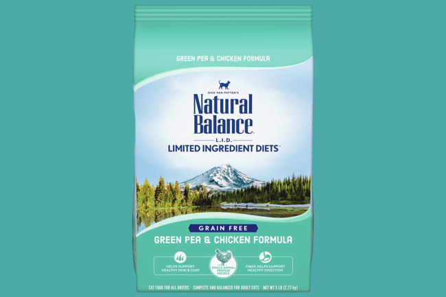 One lot of dry cat food recalled by Natural Balance