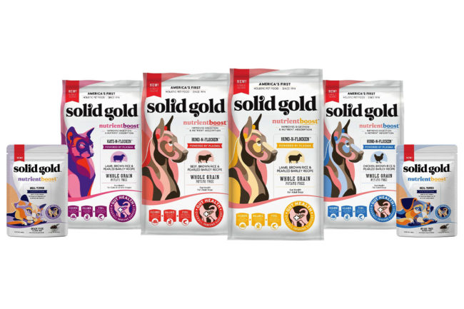 Solid Gold Pet Nutrition launches gut health-focused dog and cat foods