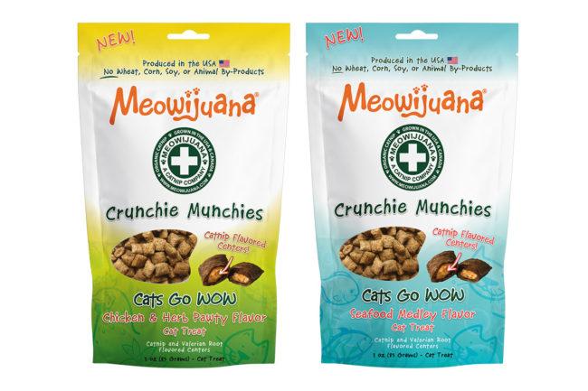 Meowijuana adds to Crunchie Munchie cat treat portfolio
