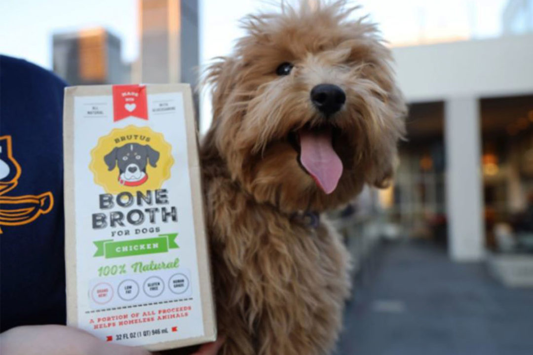 Brutus Broth pet products added to East Coast grocery stores