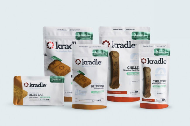 CBD pet product company launches dental chews and soft treat bars for dogs