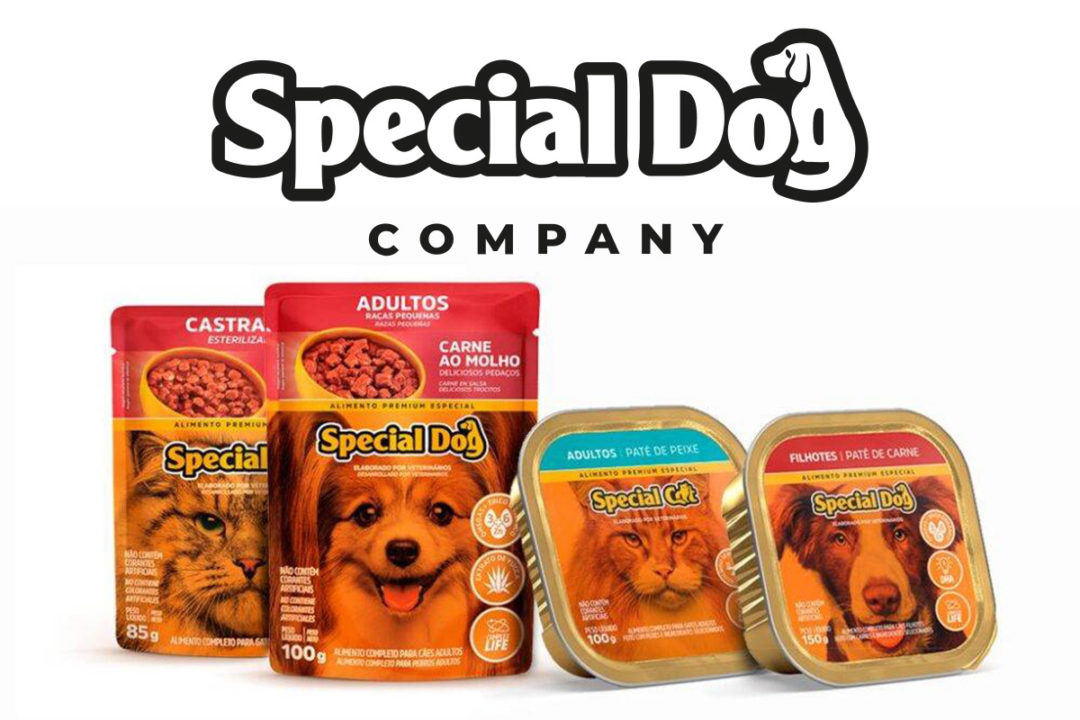 Lan Handling installs wet pet food pouch processing line for Special Dog Company