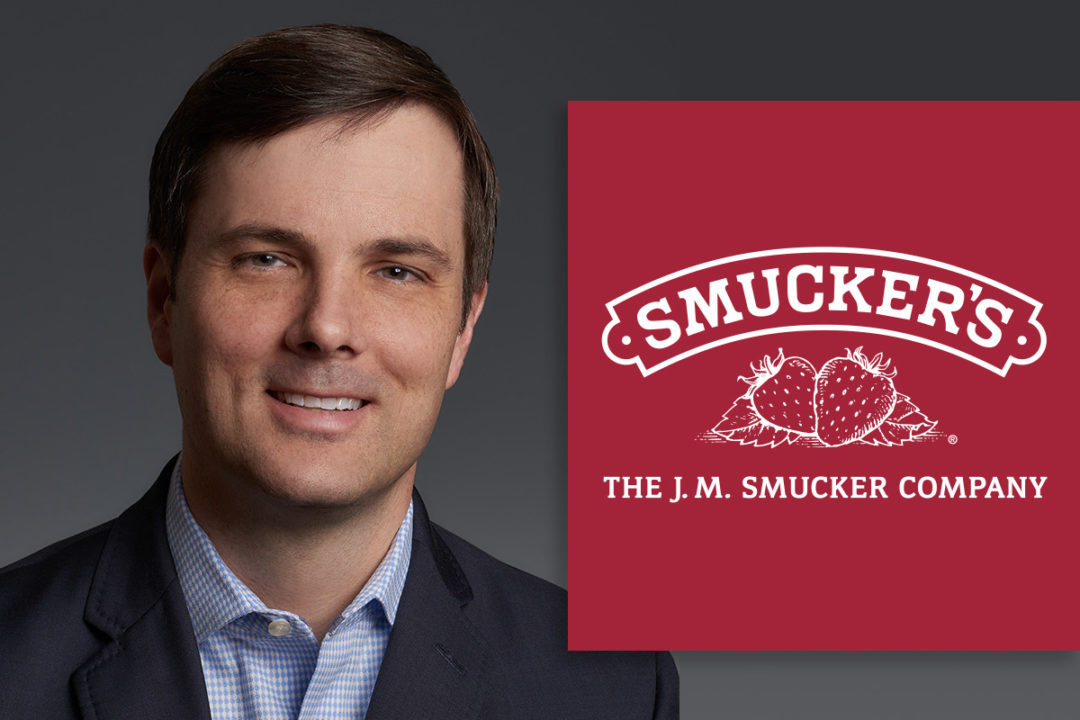 Rob Ferguson, senior vice president and general manager of pet food and pet snacks for The J.M. Smucker Company