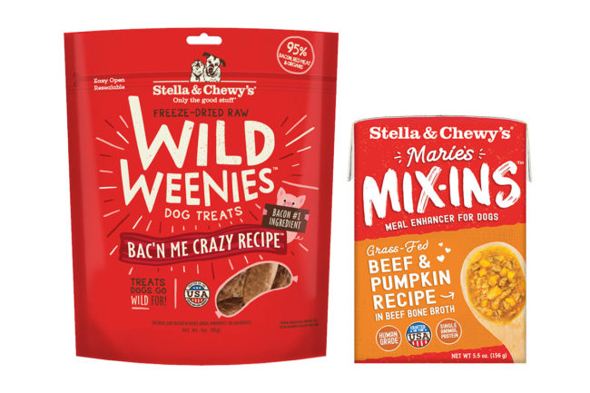 Stella & Chewy's adds pumpkin, bacon and other ingredients to several products