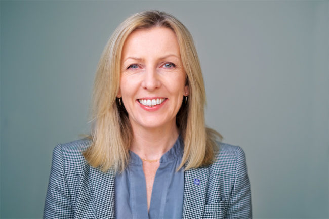 Tove Andersen, chief executive officer of TOMRA Group, effective November 2021.